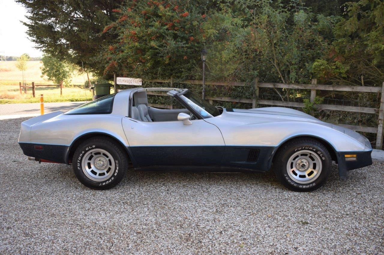 1981 Corvette C3 Stingray Targa 5.7i V8 Automatic SOLD (picture 3 of 6)