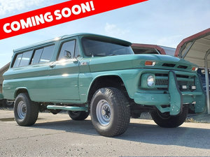 1965 Chevrolet Suburban = 4x4 AWD Clean Go Green driver $obo For Sale