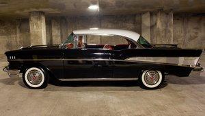 1957 Chevrolet Bel Air = Full Restored 4k miles Black $49.9k For Sale