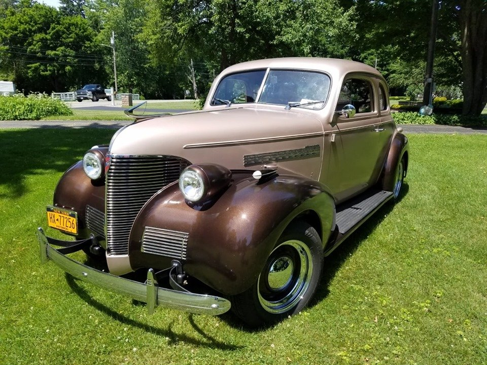 1939 Chevrolet Master 85 Business coupe (Wellsville, NY) For Sale (picture 1 of 6)