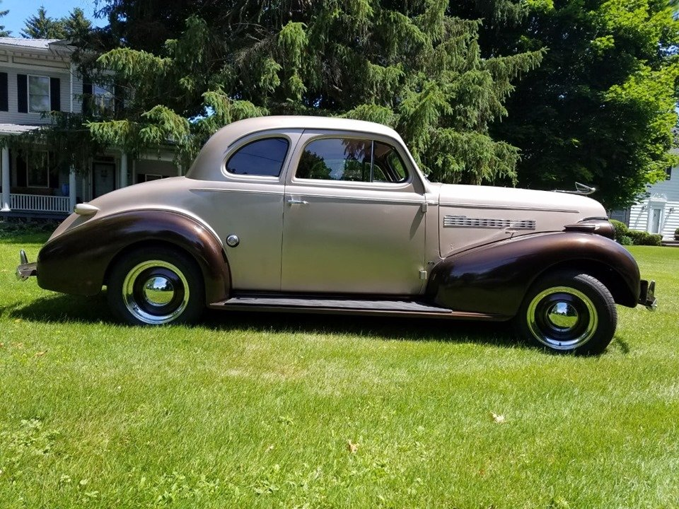 1939 Chevrolet Master 85 Business coupe (Wellsville, NY) For Sale (picture 2 of 6)