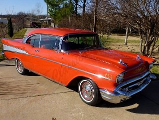 1957 Chevy Bel Air HardTop Full Restored PS PB AC-Heat $48.2 For Sale
