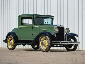 1930 Chevrolet Universal Series AD Two-Passenger Coupe