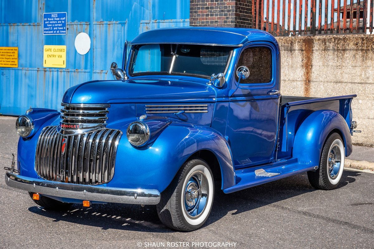 1941 Chevy 3100 Pick Up Truck Frame Off V8 Stunning For Sale (picture 1 of 6)
