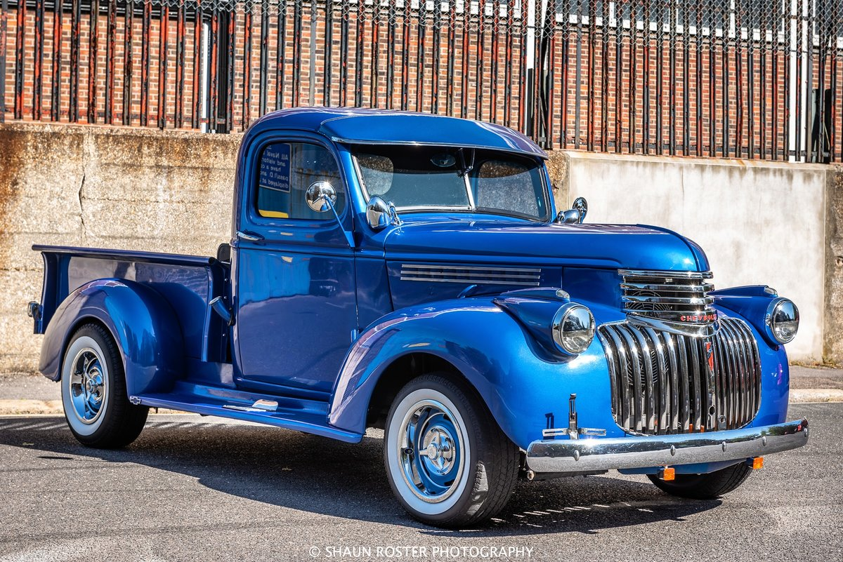 1941 Chevy 3100 Pick Up Truck Frame Off V8 Stunning For Sale (picture 5 of 6)