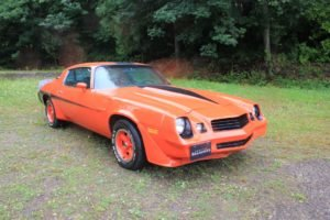 1980 Chevy Camaro Z28 Coupe = 350 Manual Orange $17.9k