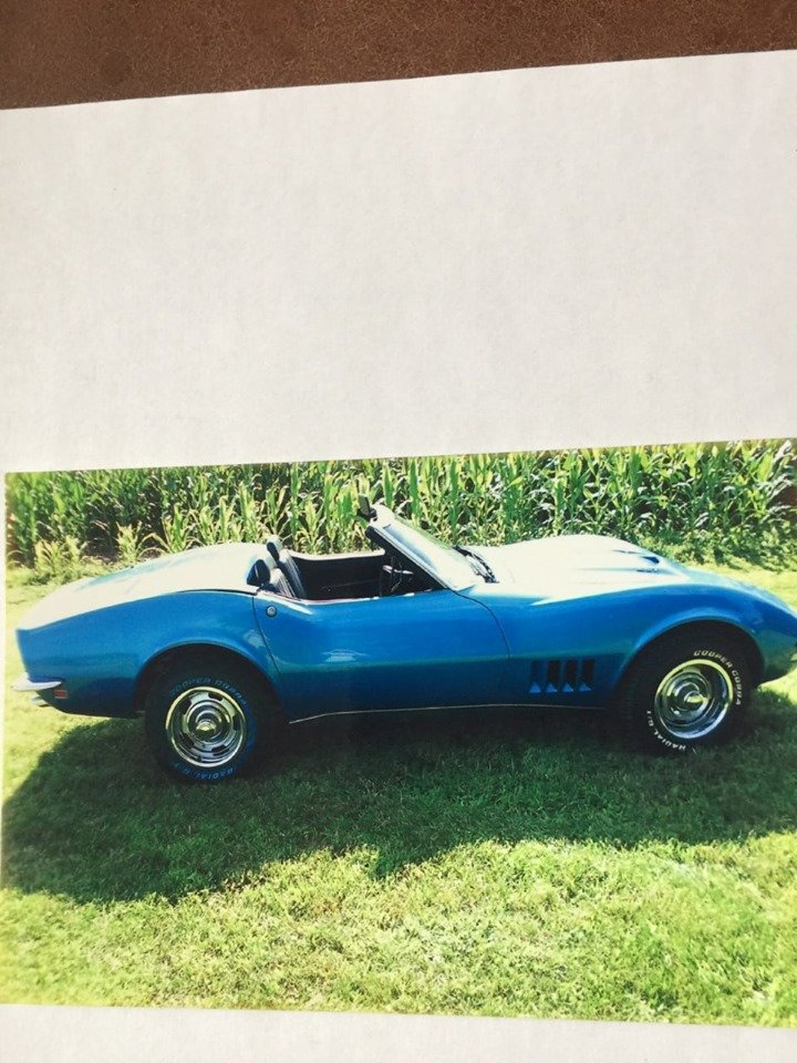 1968 Chevrolet Corvette Convertible (Bloomsbury, NJ) For Sale (picture 1 of 6)
