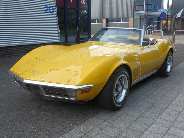 1971 CHEVROLET CORVETTE C3 CONVERTIBLE For Sale (picture 1 of 6)
