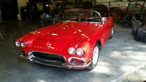 1962 Chevrolet Corvette Convertible (Grants Pass, OR)