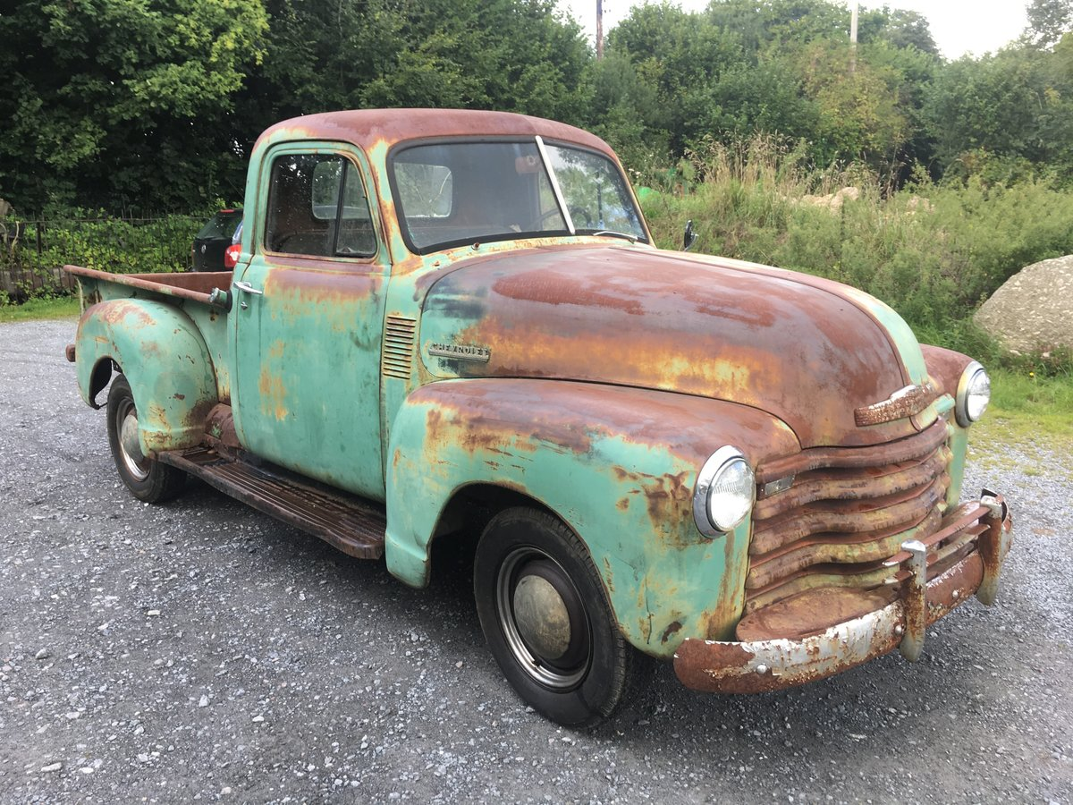 1952 chevrolet stepside 3100 For Sale (picture 1 of 6)