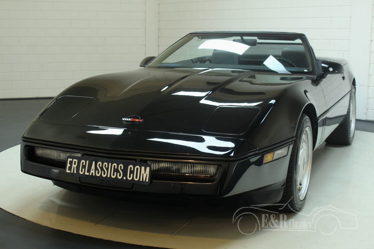 Chevrolet Corvette C4 1986 Cabriolet 5.7 V8 TPI For Sale (picture 4 of 6)