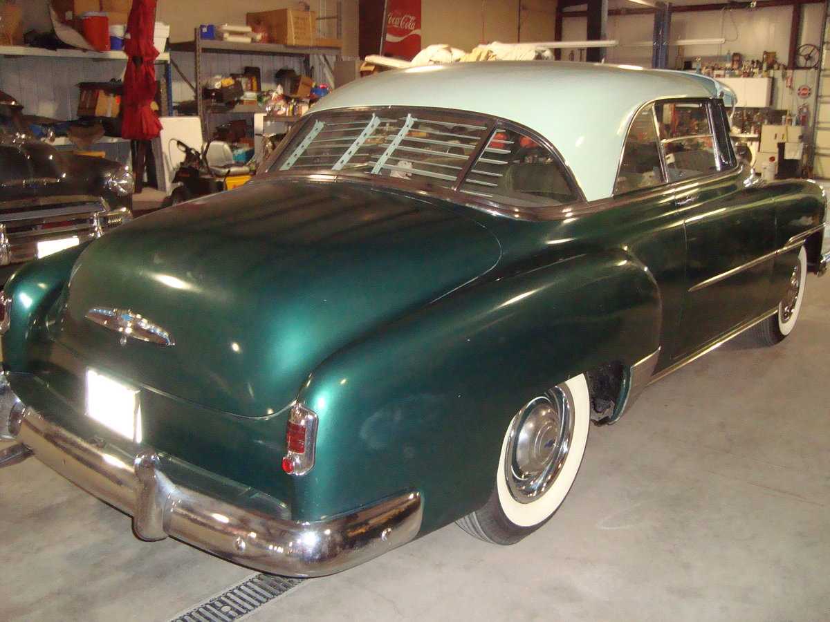 1951 Chevrolet Bel Air 2DR HT For Sale (picture 3 of 6)