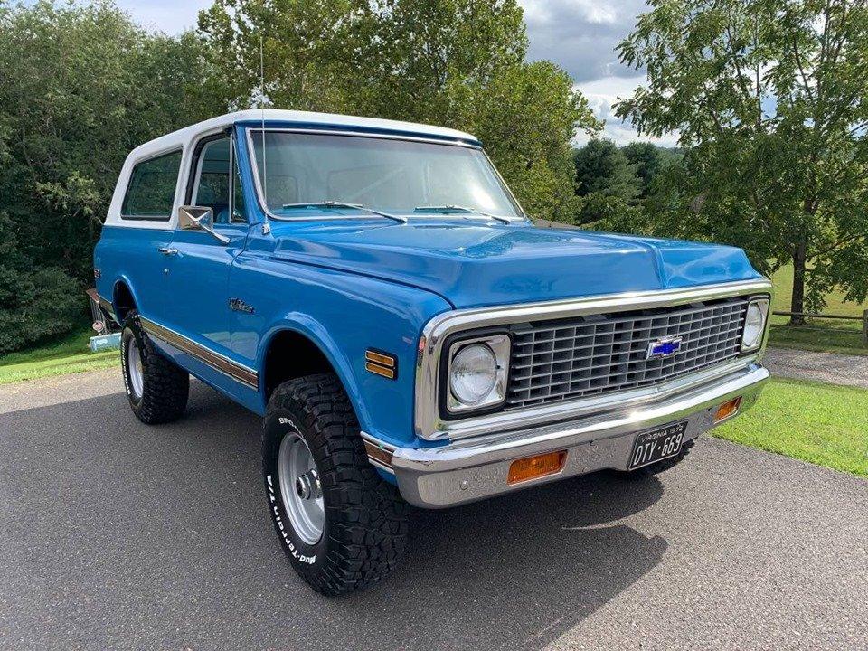 1972 Chevrolet K5 Blazer 4x4 (Austinville, VA) $59,900 obo For Sale (picture 1 of 6)