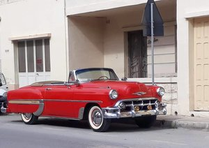 1953 chevrolet bell air convertible For Sale