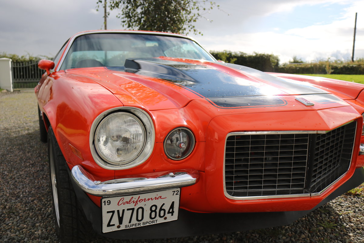 Chevrolet Camaro SS 1972 For Sale (picture 1 of 5)