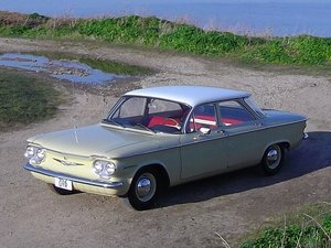 Chevrolet Corvair 700 Sedan 1960 6 Seat Interior 2.3 Manual For Sale