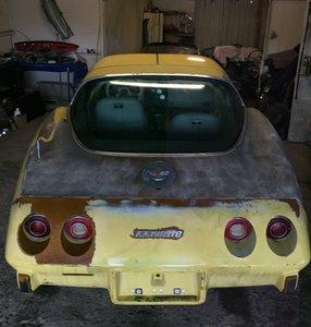 1978 Corvette anniversary model project