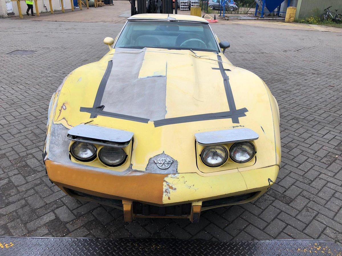 1978 Corvette anniversary model project SOLD (picture 2 of 5)