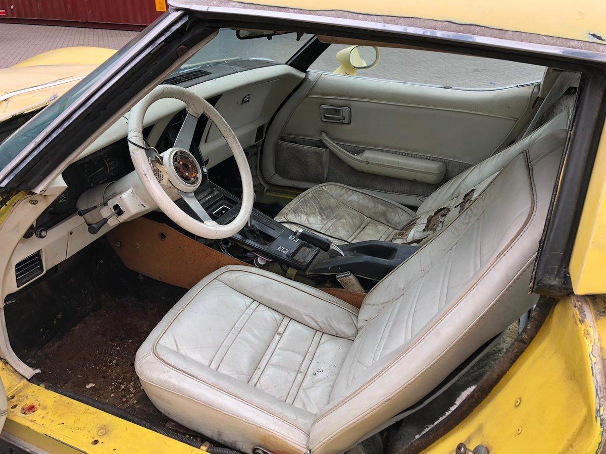 1978 Corvette anniversary model project SOLD (picture 3 of 5)
