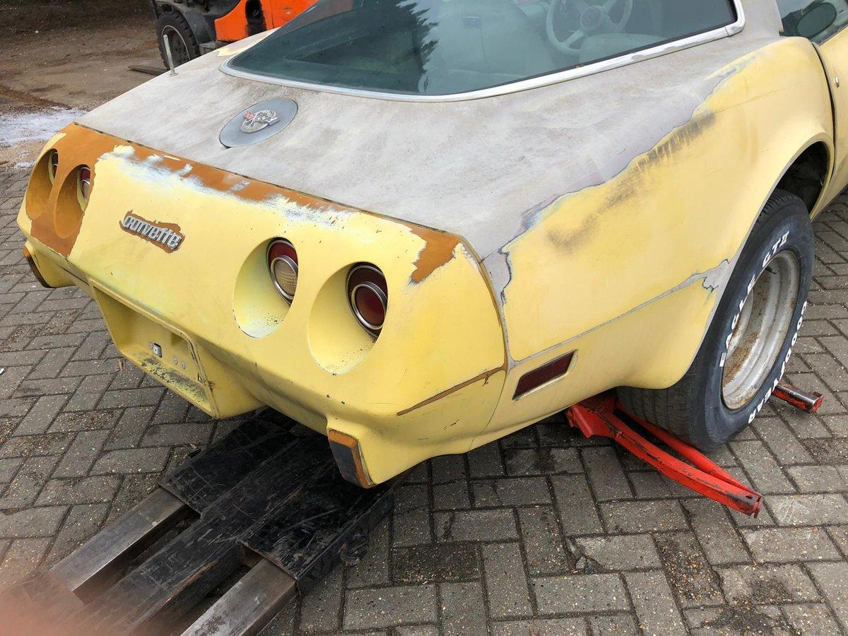 1978 Corvette anniversary model project SOLD (picture 4 of 5)