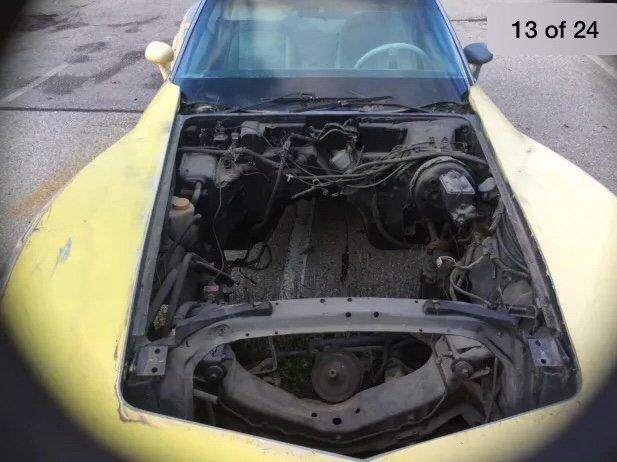 1978 Corvette anniversary model project SOLD (picture 5 of 5)