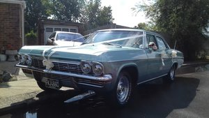 1965 chevrolet bel air.  super condition example For Sale