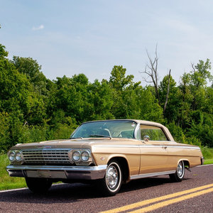 1962 Impala Golden Anniversary SS  Hardtop Rare 1 of 324 $37 For Sale