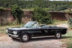 1962 Chevrolet Corvair 900 Monza Cabriolet  No reserve       For Sale by Auction