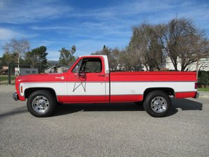 1976 CHEVROLET SILVERADO 20 CAMPER SPECIAL For Sale