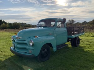 1955 Chevrolet 3600 Chevy Stake Bed Truck For Sale