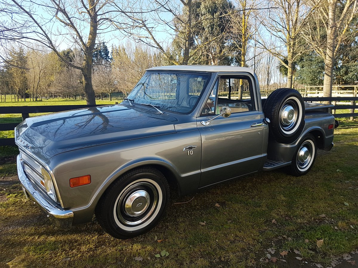 1968 Chevrolet Factory v8 cool pick up truck! For Sale (picture 1 of 6)