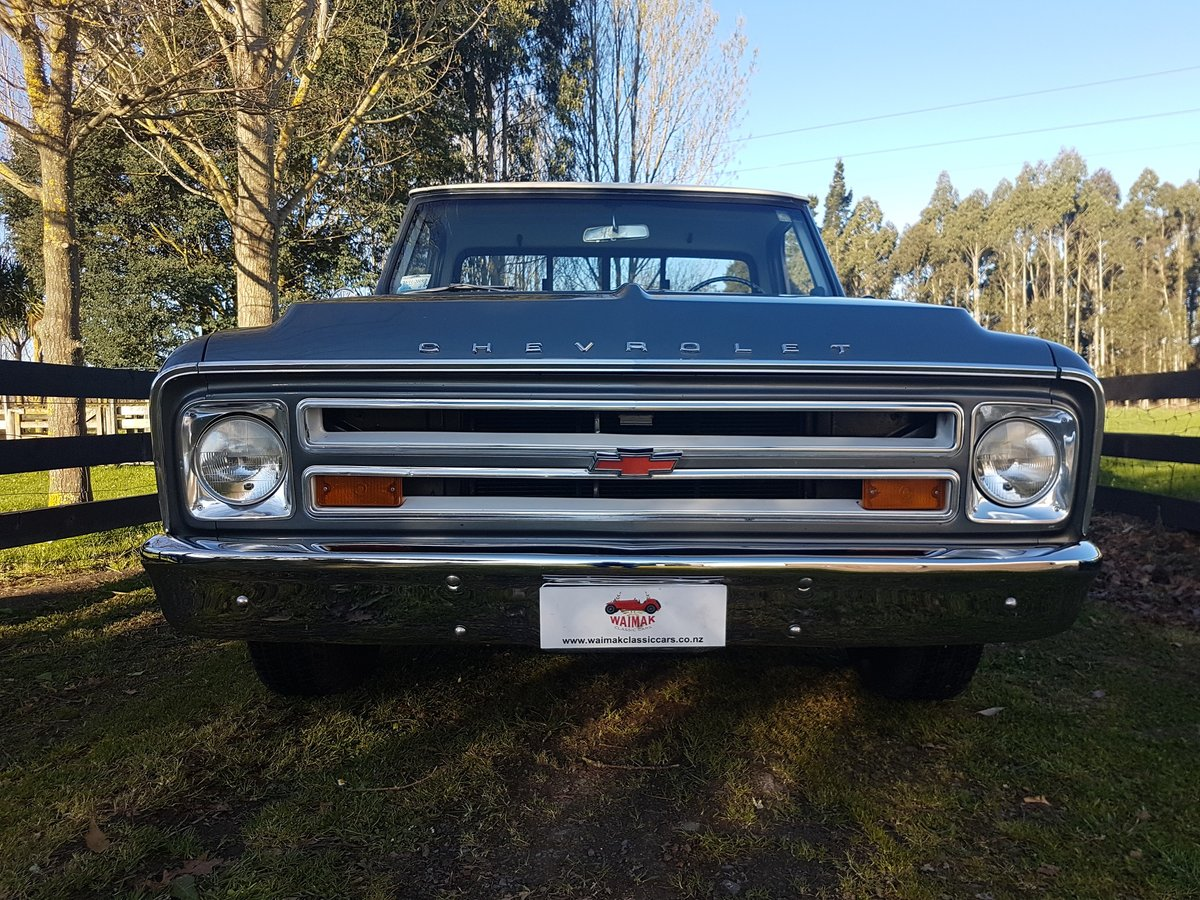 1968 Chevrolet Factory v8 cool pick up truck! For Sale (picture 6 of 6)