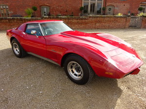 CORVETTE STINGRAY 5700CC AUTO C3 TARGA TOP 1976  For Sale