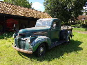 1942 Chevy half ton short bed pickup truck