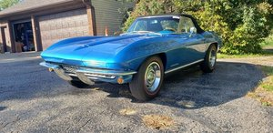 1967 Chevrolet Corvette Convertible 4 Speed Numbers Match For Sale