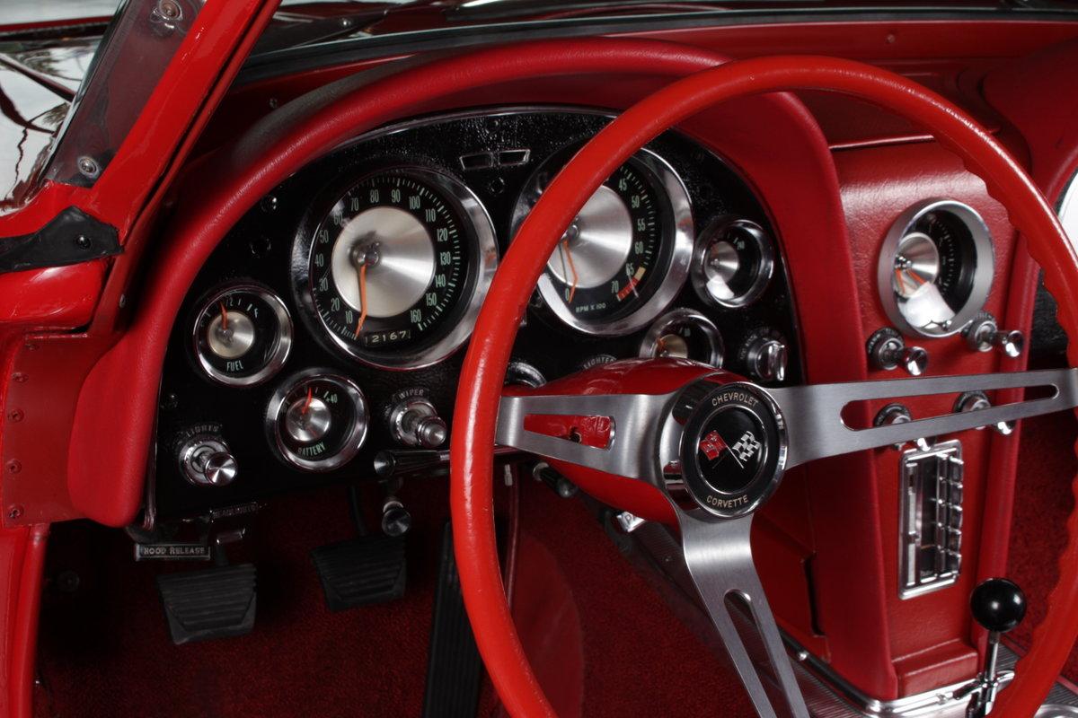 1963 63' Split window corvette 340hp / 4 spd numb match ! For Sale (picture 4 of 6)