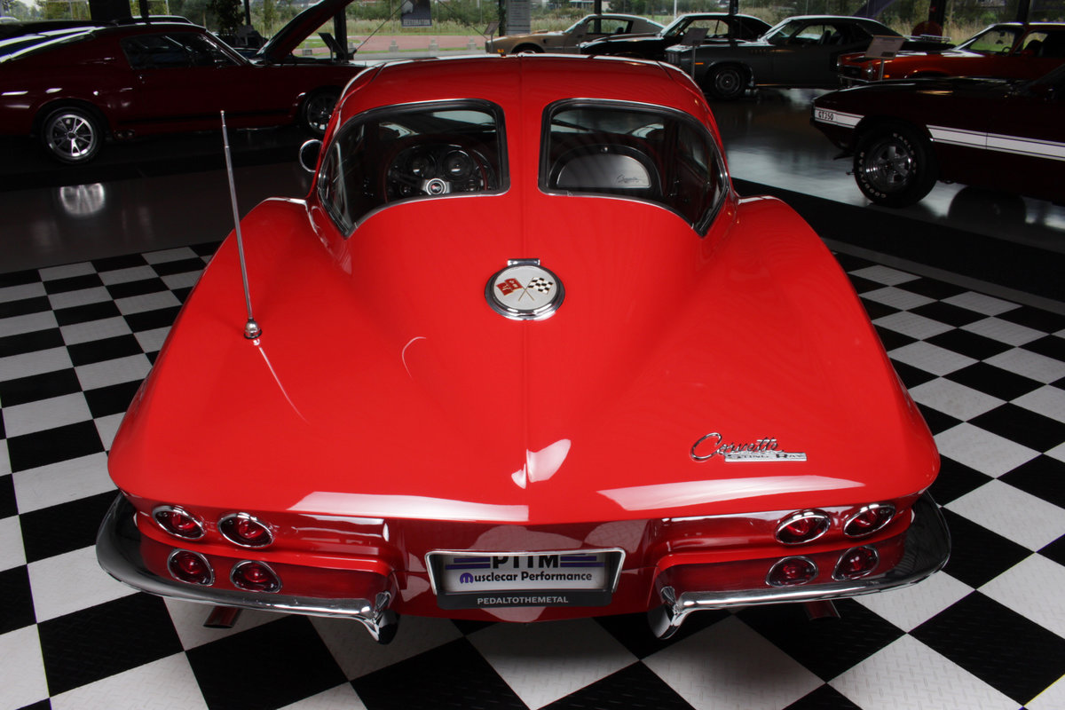 1963 63' Split window corvette 340hp / 4 spd numb match ! For Sale (picture 5 of 6)
