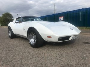 1974 Corvette imported from california powerfull v8 350