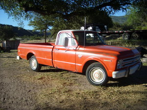 1967 Chevy C10 LWB in USA For Sale
