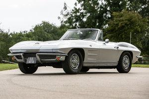 1963 Corvette Stingray Supplied new to Sir Cliff Richard OBE