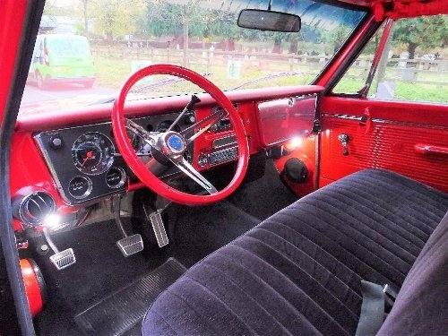 1971 Chevrolet Chevy 7.4 BUDWEISER NASCAR TRIBUTE TRUCK For Sale (picture 7 of 10)