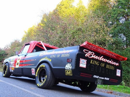 1971 Chevrolet Chevy 7.4 BUDWEISER NASCAR TRIBUTE TRUCK For Sale (picture 10 of 10)