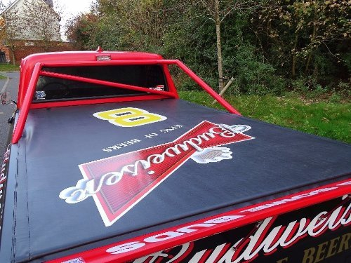 1971 Chevrolet Chevy 7.4 BUDWEISER NASCAR TRIBUTE TRUCK For Sale (picture 3 of 10)