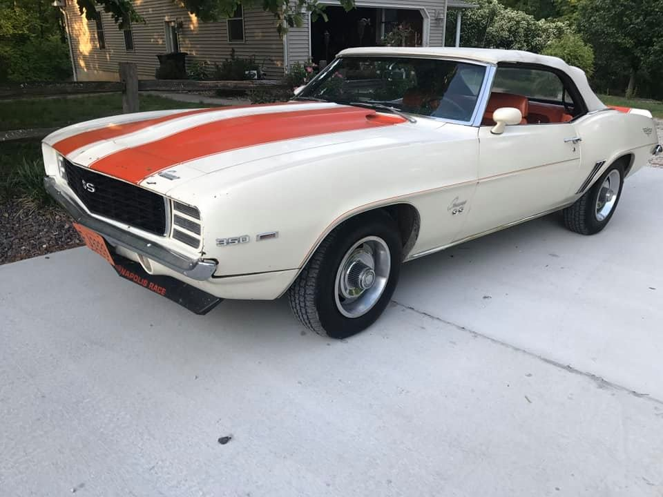 1969 Chevrolet Camaro Z11 Indy 500 Pace Car Convertible For Sale (picture 1 of 6)