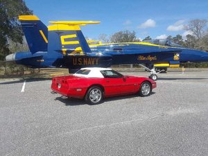 1990 Chevrolet Corvette Convertible (Pensacola, FL)