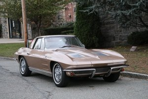 Fuel Injected 1963 Chevrolet Corvette: Matching Number Origi For Sale