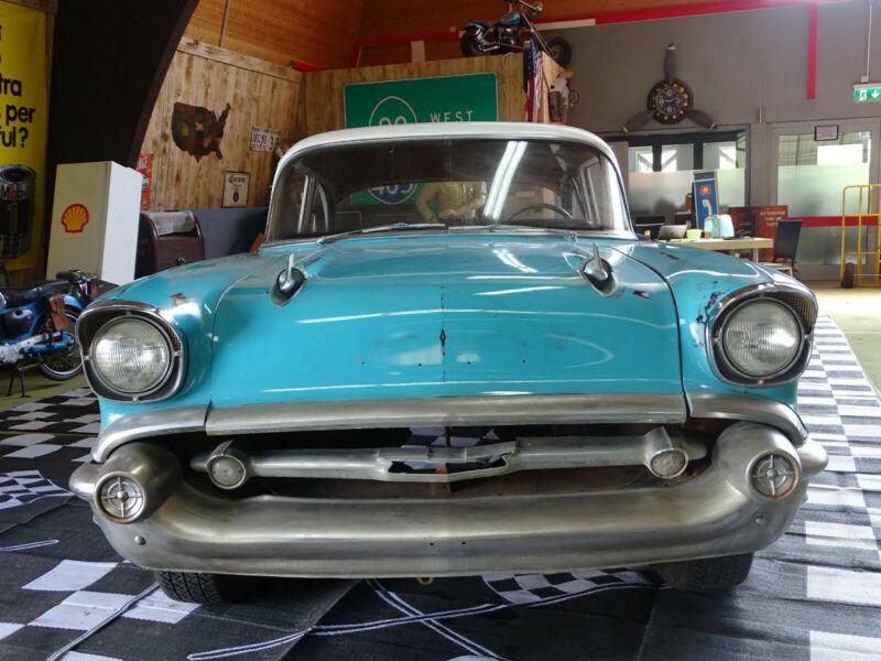 1957 Chevrolet Belair 2-Door Coupé *Herbst-/Winterprojekt* - '57 For Sale (picture 1 of 6)
