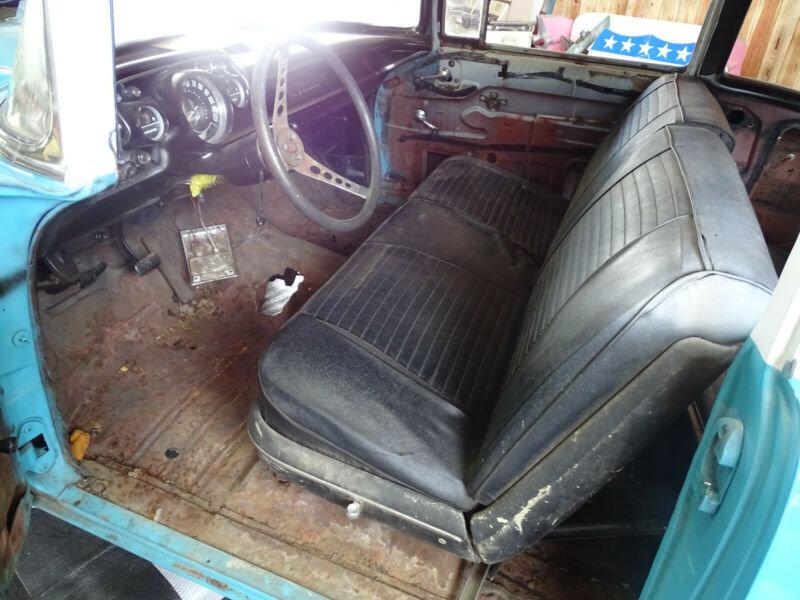 1957 Chevrolet Belair 2-Door Coupé *Herbst-/Winterprojekt* - '57 For Sale (picture 4 of 6)