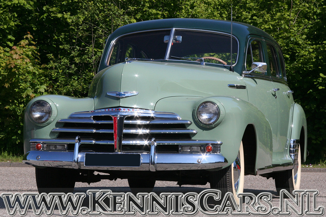 Chevrolet 1948 Fleetmaster Sedan  For Sale (picture 1 of 6)