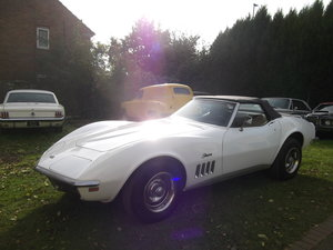 1969 Corvette Stingray Convertible,UK Registered,Matching Numbers For Sale